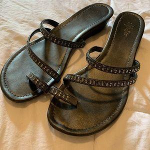 ❤️5/$20❤️ Style & Co Rhinestone Sandals Sz 7
